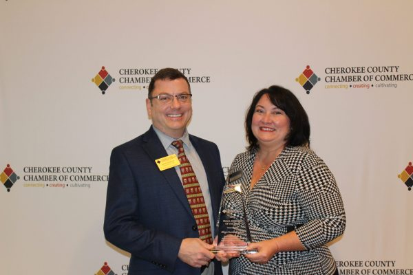 Cherokee Chamber Announces 2020 Small Business of The Year