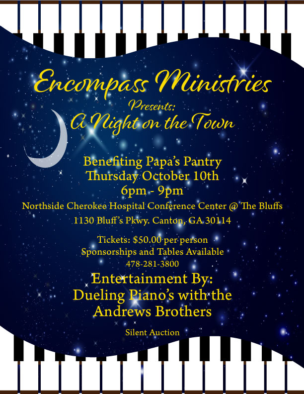 Encompass Ministries Presents: A Night on the Town