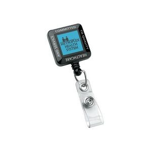 Square Perfect Value Badge Holder