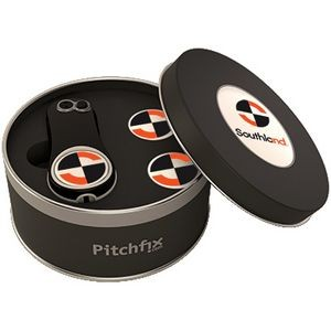 Pitch Fix Fusion 2.5 Pin Divot Tool & Tin w/Markers